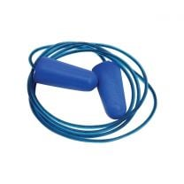 Earplugs with detectable cord