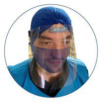 Face Shield / Visor Detectable Strap (Pack of 10)