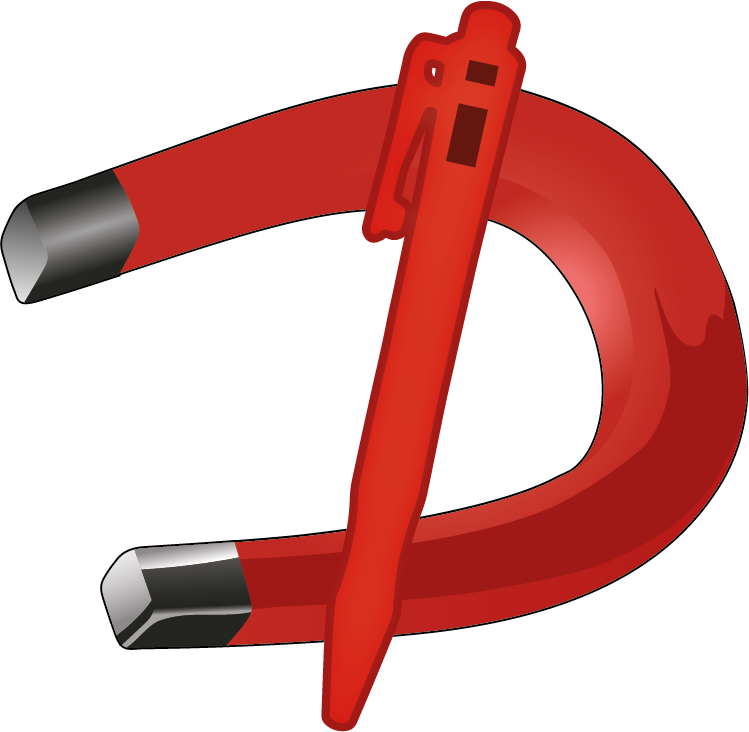 Metal Detector Test Card Manufactured from Blue Acrylic